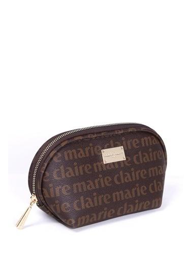 Marie Claire Makyaj Çantası Kahve